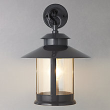 Buy John Lewis Portobello Outdoor Hanging Wall Light, Grey Online at johnlewis.com