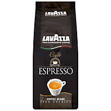 Buy Lavazza Arabica Caffe Espresso Coffee Beans, 250g Online at johnlewis.com