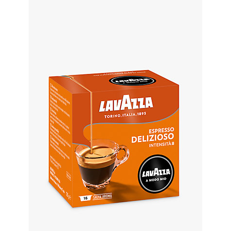 Buy Lavazza Deliziosamente A Modo Mio Capsules, Pack of 16 Online at johnlewis.com