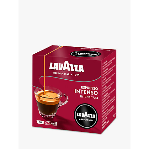 Buy Lavazza Intenso A Modo Mio Espresso Capsules, Pack of 16 Online at johnlewis.com