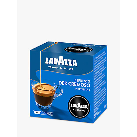 Buy Lavazza Cremosamente Dek A Modo Mio Capsules, Pack of 16 Online at johnlewis.com