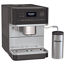 Buy Miele CM6300 Bean-To-Cup Coffee Machine, Black Online at johnlewis.com