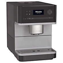 Buy Miele CM6100 Bean-To-Cup Coffee Machine, Black Online at johnlewis.com