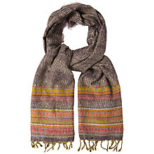Buy White Stuff Aztec Woven Scarf, Multi Online at johnlewis.com
