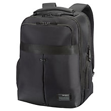 "Buy Samsonite CityVibe 16"" Laptop Backpack, Black Online at johnlewis.com"