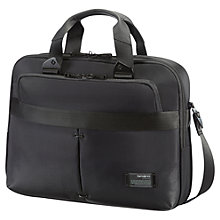 "Buy Samsonite CityVibe 16"" Laptop Bail Handle Briefcase, Black Online at johnlewis.com"