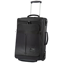 Buy Samsonite City Vibe 2-Wheel 55cm Laptop Duffle Cabin Case, Black Online at johnlewis.com