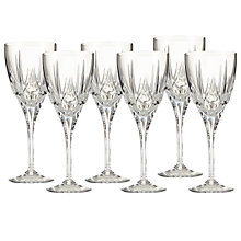 Buy Royal Doulton Belvedere Wine Glasses, Set of 6 Online at johnlewis.com