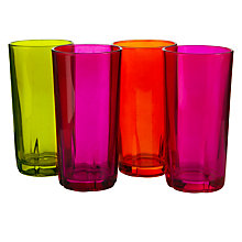 Buy Harlequin Mixed Highballs, Set of 4 Online at johnlewis.com