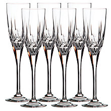 Buy Royal Doulton Belvedere Flutes, Set of 6 Online at johnlewis.com