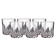Buy Royal Doulton Belvedere Tumblers, Set of 6 Online at johnlewis.com