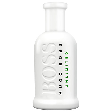 Buy BOSS Bottled Unlimited Eau de Toilette Online at johnlewis.com