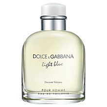 Buy Dolce & Gabbana Light Blue Pour Homme Vulcano Limited Edition Online at johnlewis.com
