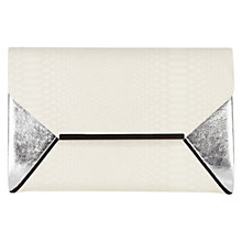 Buy Coast Mirade Clutch Bag, Mono Online at johnlewis.com