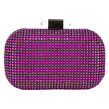 Buy Coast Harper Clutch, Fuchsia Online at johnlewis.com