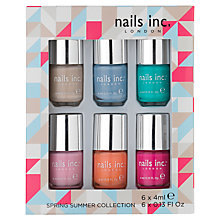 Buy Nails Inc. Spring / Summer 2014 Nail Polish Collection, 6 x 4ml Online at johnlewis.com