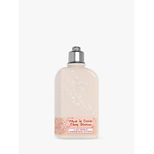 Buy L'Occitane Cherry Blossom Shimmering Body Lotion, 250ml Online at johnlewis.com