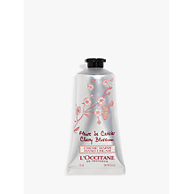 Buy L'Occitane Cherry Blossom Hand Cream, 75ml Online at johnlewis.com