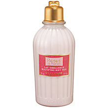 Buy L'Occitane Roses et Reine Beautifying Body Milk, 250ml Online at johnlewis.com
