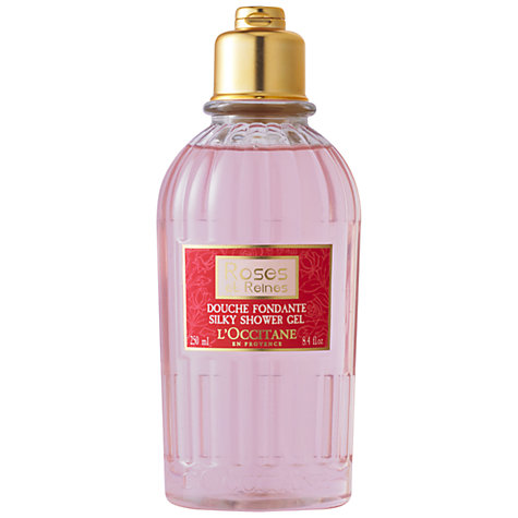Buy L'Occitane Rose et Reines Shower Gel, 250ml Online at johnlewis.com