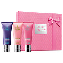 Buy Molton Brown Hand Cream Trio, 3 x 40ml Online at johnlewis.com