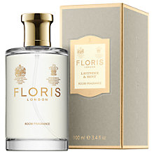 Buy Floris Lavender and Mint Room Fragrance, 100ml Online at johnlewis.com