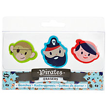 Buy Natural Products Pirate Erasers Online at johnlewis.com