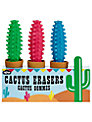 Npw Cactus Erasers, Set of 3