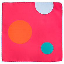 Buy Thomas Pink Spot Pocket Square, Multicoloured Online at johnlewis.com