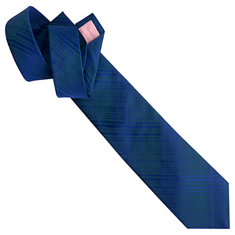 Buy Thomas Pink Seaton Check Woven Tie, Blue Online at johnlewis.com