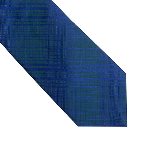 Buy Thomas Pink Pattern Silk Tie, Blue Online at johnlewis.com