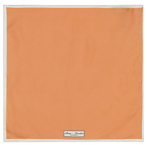 Buy Reiss Icarus Plain Silk Pocket Square Online at johnlewis.com