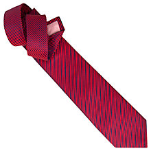 Buy Thomas Pink Sedbergh Stripe Woven Tie, Red/Navy Online at johnlewis.com