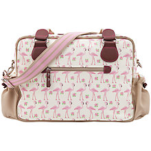 Buy Pink Lining Not So Plain Jane Changing Bag, Flamingo Online at johnlewis.com