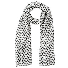 Buy Becksöndergaard Cotton Palm Tree Scarf Online at johnlewis.com