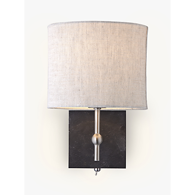 John Lewis Jack Wall Light, Slate