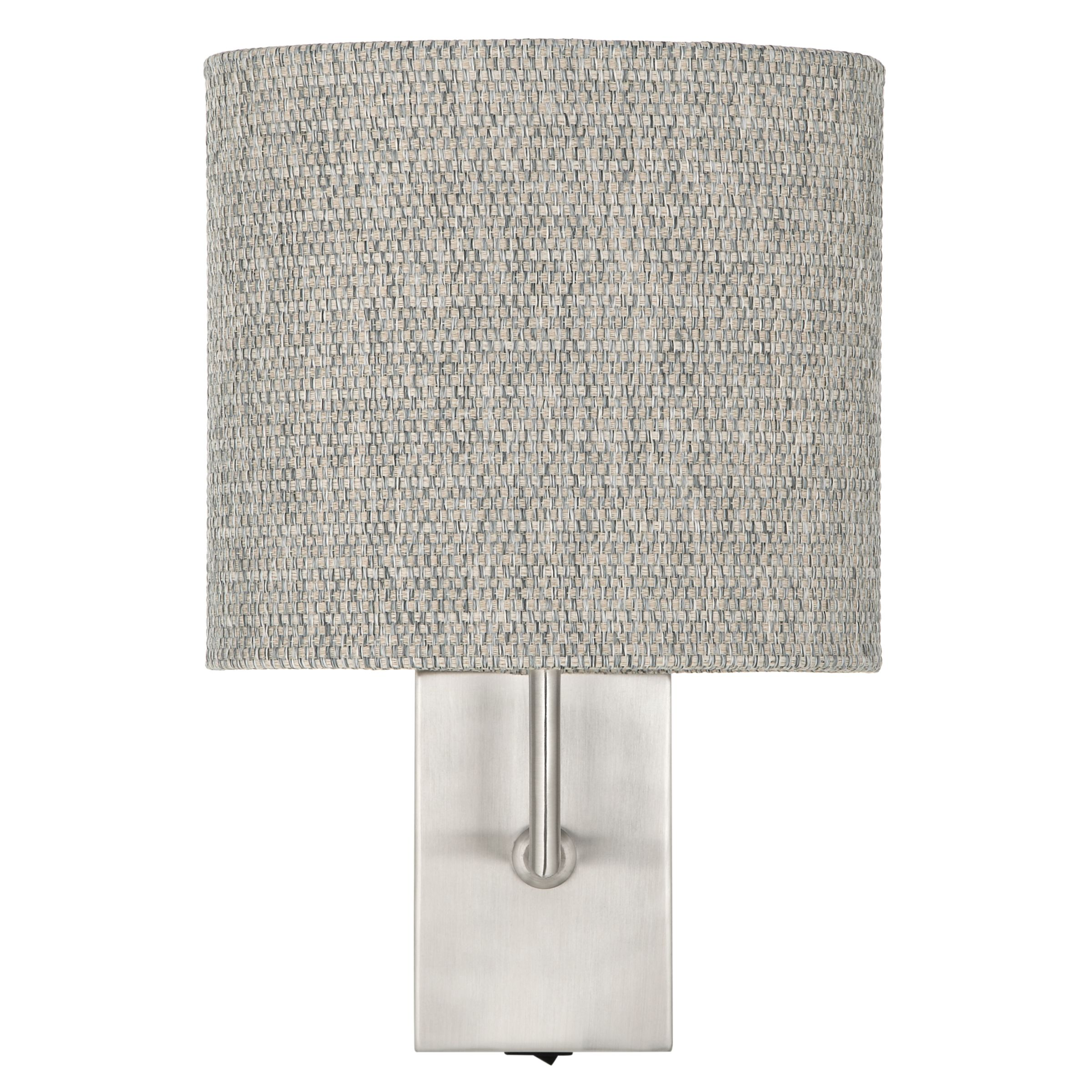 Buy John Lewis Lorenzo Textured Shade Wall Light John Lewis
