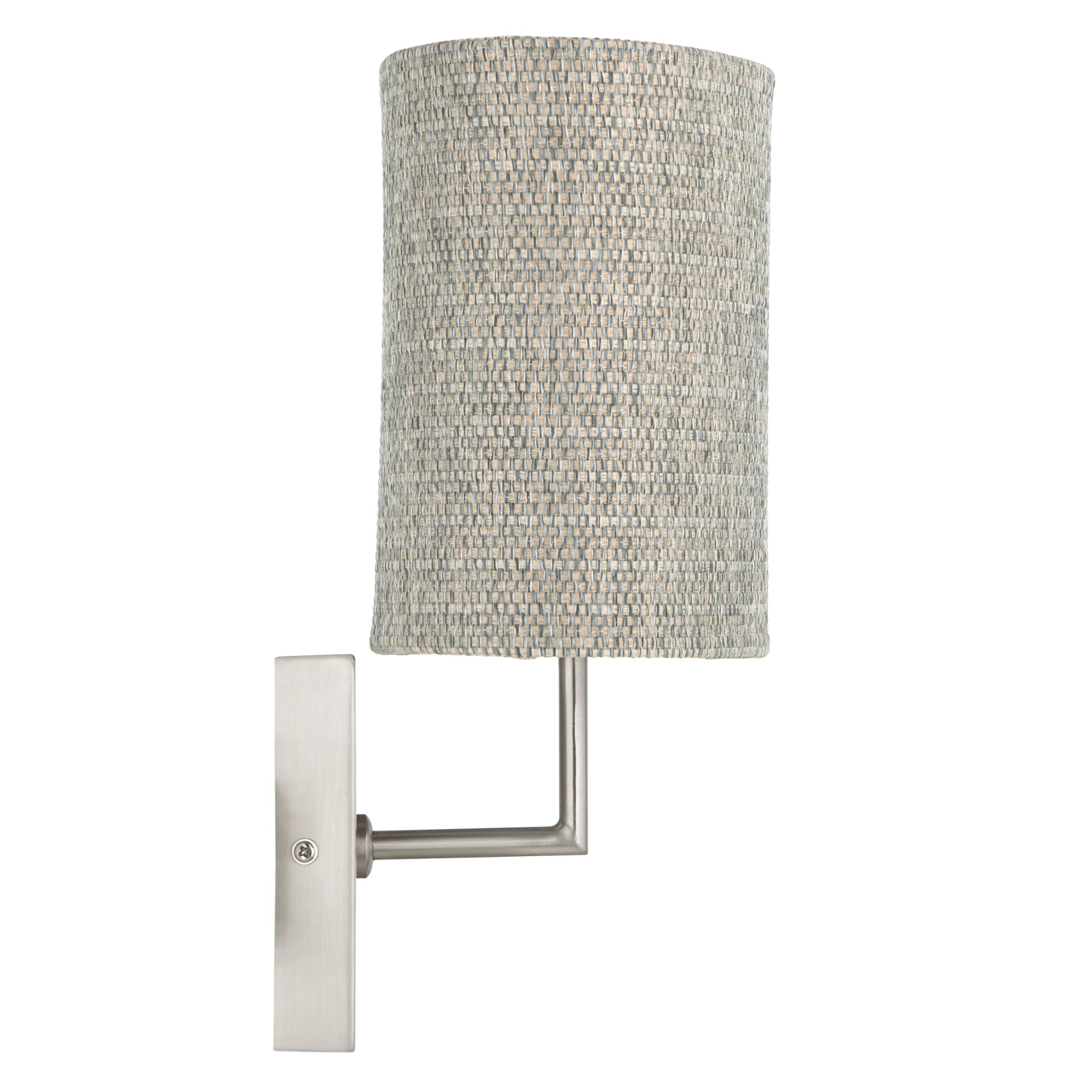 John Lewis Wall Lamp Shades : Buy John Lewis Lorenzo Textured Shade Wall Light John Lewis