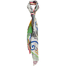 Buy Havren Multi Print Paisley Scarf, Multi Online at johnlewis.com