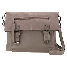 Buy Mint Velvet Freya Satchel Bag, Mink Online at johnlewis.com
