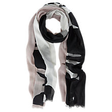 Buy Mint Velvet Paige Print Scarf, Multi Online at johnlewis.com