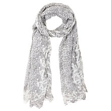 Buy Mint Velvet Sami Print Scarf, Grey Multi Online at johnlewis.com