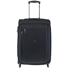 Buy Delsey Montmartre 2-Wheel 55cm Cabin Suitcase, Black Online at johnlewis.com