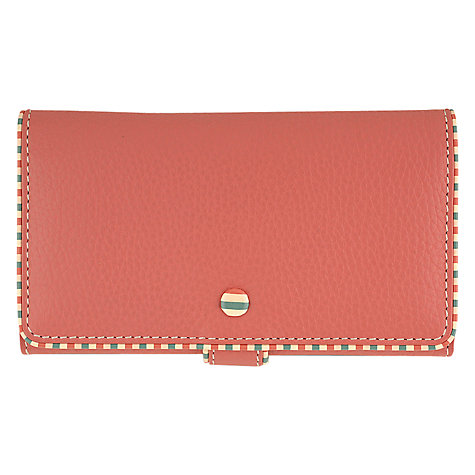 Buy Tula Mallory Large Leather Matinee Purse, Pink Online at johnlewis.com