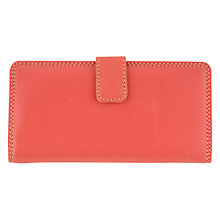 Buy Tula Originals Medium Frame Leather Matinee Purse, Sorbet Online at johnlewis.com
