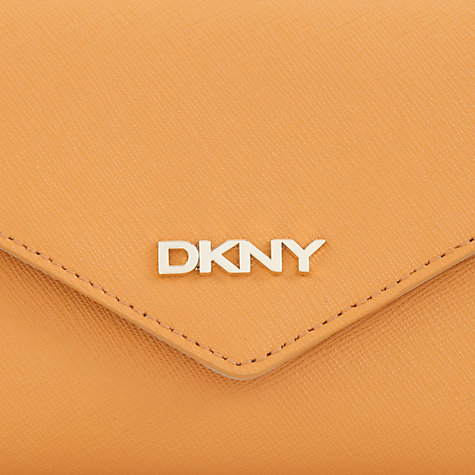 Buy DKNY Saffiano Leather Envelope Purse Online at johnlewis.com