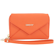 Buy DKNY Saffiano Wristlet Wallet Online at johnlewis.com