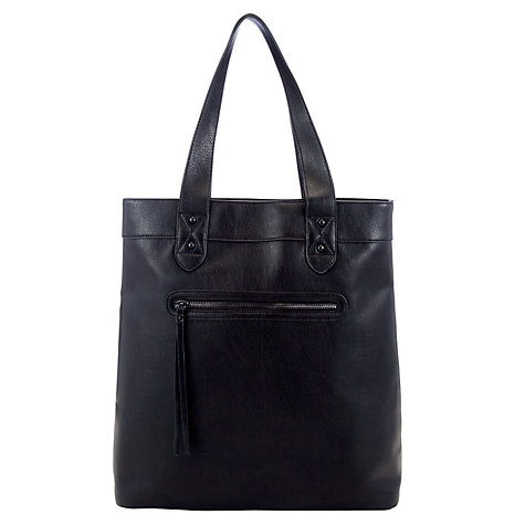 Buy Collection WEEKEND by John Lewis Grainy Chiswick Tote Bag, Black Online at johnlewis.com
