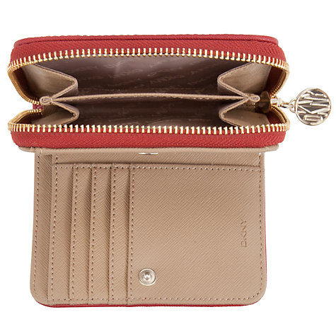 Buy DKNY Heritage Small Carryall Purse, Chino/Red Online at johnlewis.com