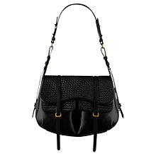 Buy Radley Kirkwood Large Leather Flap Shoulder Bag Online at johnlewis.com